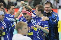 Ze zápasu Česko vs. Lotyšsko