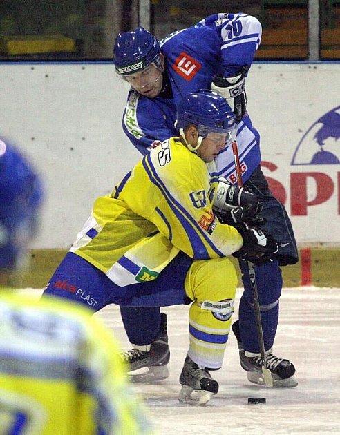 Orlovští hokejisté v závěrečném utkání kalendářního roku prohráli po bitvě v Přerově.
