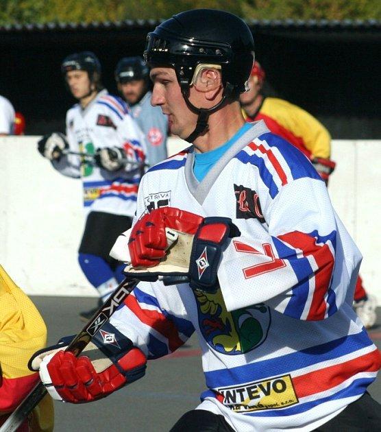 Nedařilo se. Hokejbalisté Inteva prohráli poslední dvě utkání.