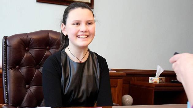 Ema Trávníčková jako primátorka Karviné
