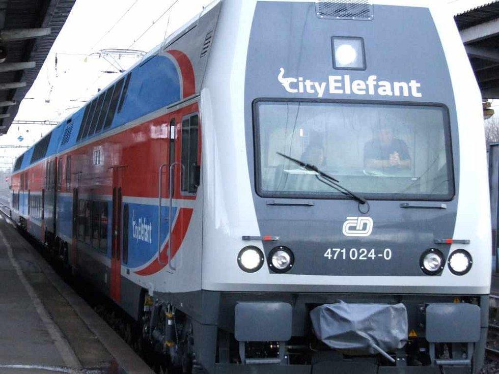 Vlaková souprava CityElefant