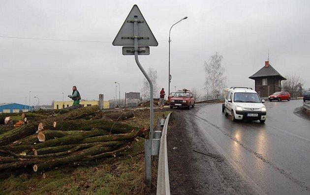 Příprava stavby mostu v Bohumíně