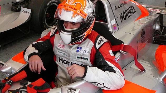 David Palmi zvládl závody v Brně a může se radovat z celkově druhého místa.