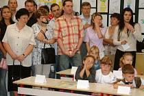 První den ve škole si nenechá ujít většina rodičů.