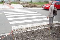 Po stavebních úpravách to budou mít chodci na druhou stranu ulice blíž