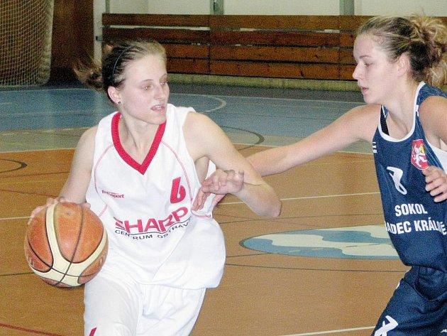 Basketbalistky Startu Havířov se v dorostenecké lize velmi snaží.