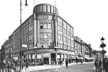 Bankovní dům v Českém Těšíně v třicátých letech minulého století.
