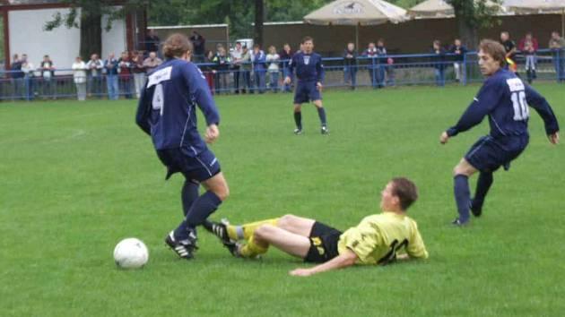 Fotbalisté MFK Havířov v Kobeřicích prohráli.