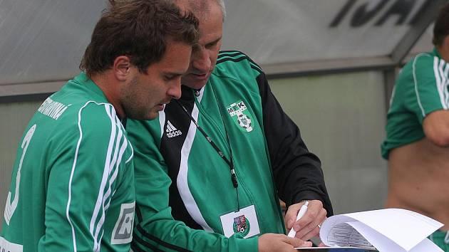Trenér Karel Kula kvitoval čisté konto, ale s hrou směrem dozadu spokojen nebyl.
