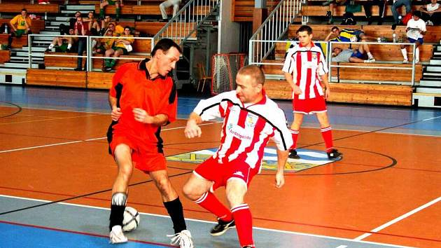 Všechny zápasy v Městské sportovní hale byly plné nasazení.