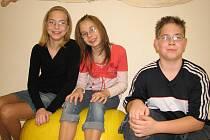 Havířovská trojčata - Lucka, Veronika a Pavel