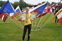 Orlovská medailistka Emily Gerulová.