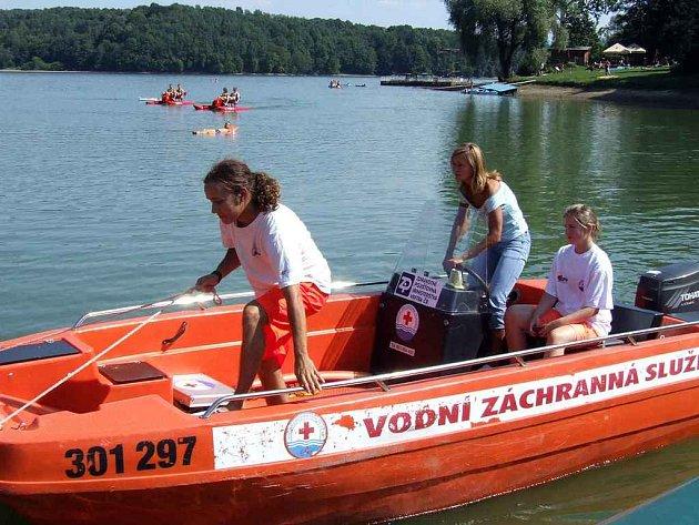 Těrličtí vodní záchranáři