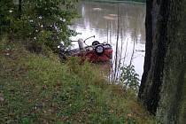 Dopravní nehoda v Horní Suché