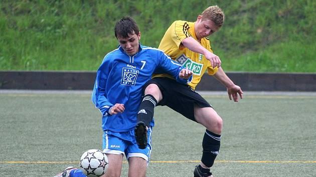 Mládežníci okresních družstev pokračovali ve svých soutěžích.