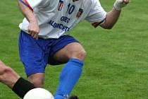 Tomáš Wojtyna z Albrechtic se svým výkonem podílel na devastaci loni ještě divizních Bohuslavic.