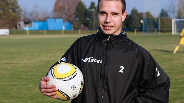 Tomáš Havlásek - vítěz soutěže kanonýrů D-Sportu.