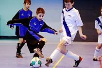 Fotbalové přípravky soutěžily v Opavě. Karviná zde skončila třetí.