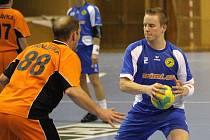 Martin Vala (vpravo) hraje v nové sezoně i za Havířov a svými góly pomáhá k výhrám Baníku.