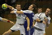 Házenkáři Karviné porazili v předehrávce extraligy Brno.
