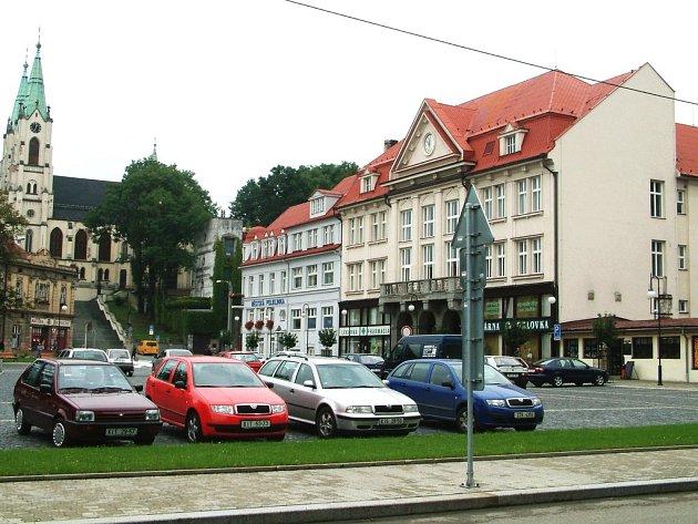 Radnice v Orlové.