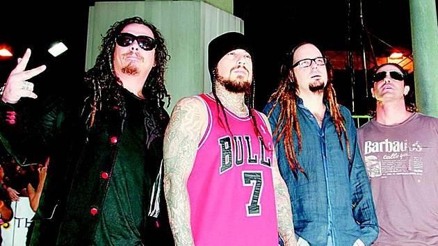 Americká kapela Korn.