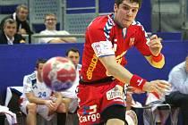 Čeští reprezentanti v Polsku prohráli všechna tři utkání. Na snímku Ondřej Zdráhala.