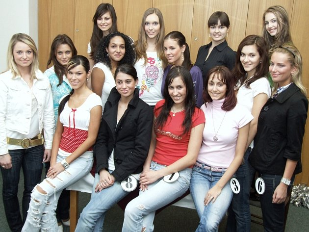 Finalistky Miss Reneta 2008