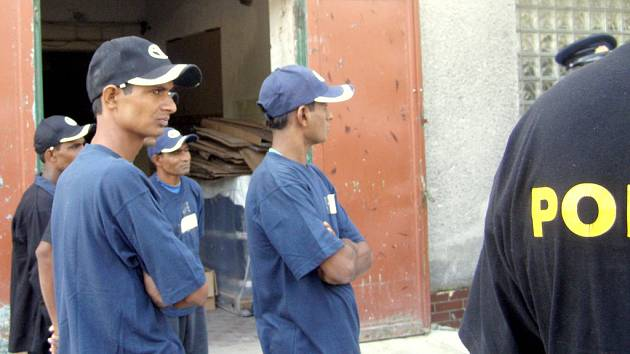 Indičtí zaměstnanci