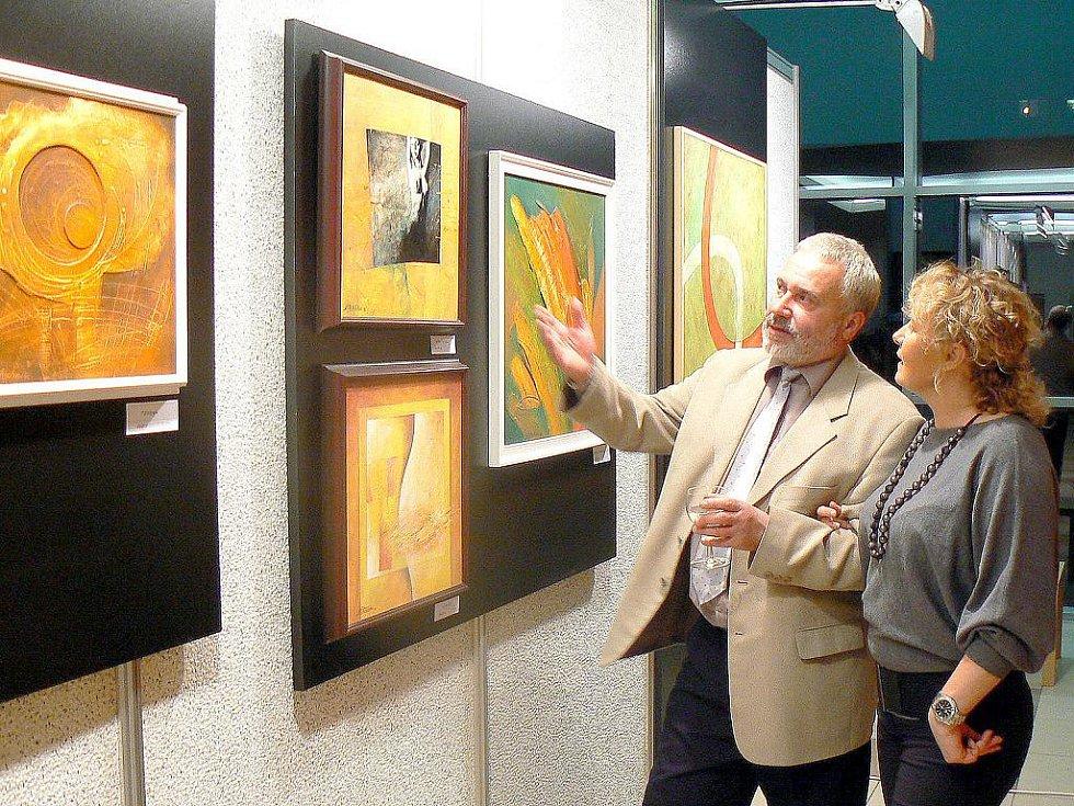 Výstava Přemysla Pastuchy v Rychvaldě
