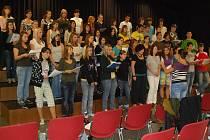 Smíšený pěvecký sbor Gymnázia Orlová navštívil Švýcarsko