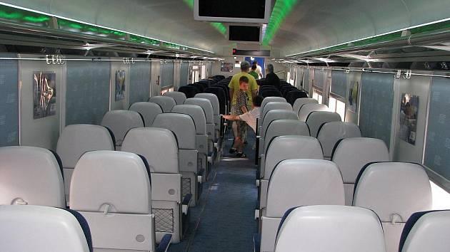Vlaky RegioJet nasazené na trase mezi Ostravskem a Prahou budou komfortní a klimatizované. Ilustrační foto.