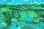 Takto by mohl vypadat Areál volného času v Havířově.
