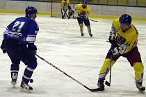 Orlovští hokejisté podlehli ve Studénce gólem z 59. minuty utkání.