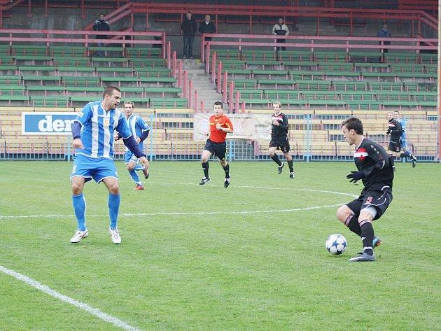 Derby v divizi Havířov - Orlová 0:1.