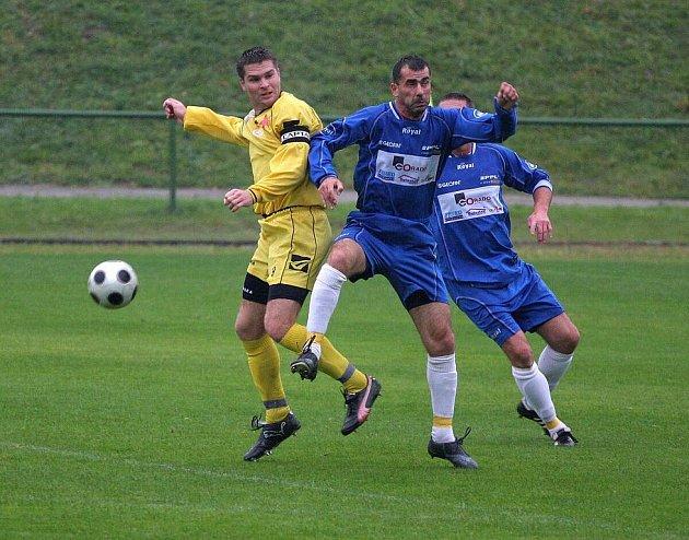 Orlovští fotbalisté doma konečně neprohráli.