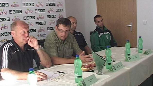 Fotbalisté představili na tiskovce své plány pro příští sezonu.