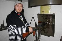 Pavel Michalek chce v prvorepublikovém vojenském bunkru vytvořit malé muzeum
