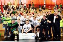 Házenkáři karvinského Baníku obhájili prvenství v Českém poháru a získali double.