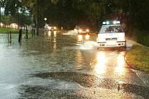 Zaplavená Frýdecká ulice