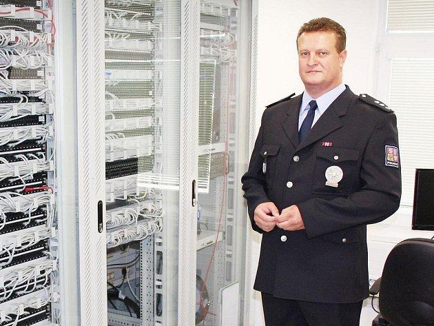 Součástí nové služebny je také technologická místnost, která je mozkem celé budovy.
