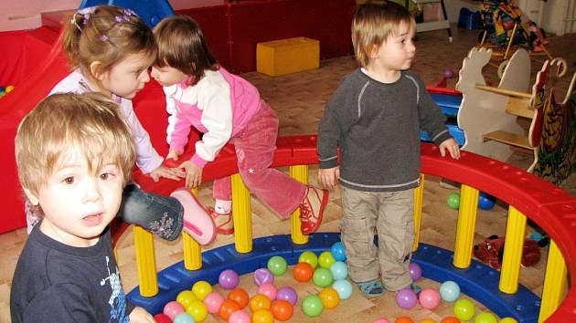 Děti v centru
