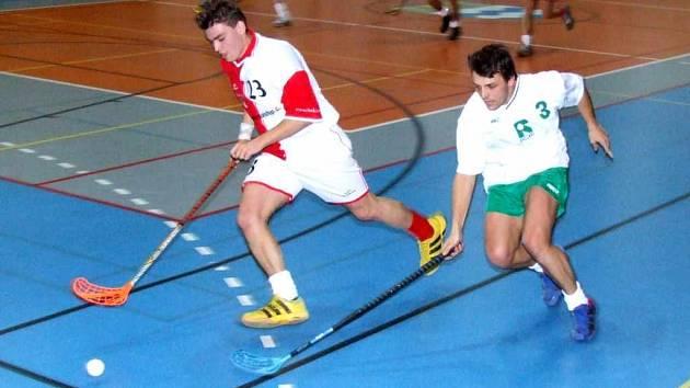 Na turnaji v Horní Suché se představili florbalisté Slavie Havířov v dobrém světle.