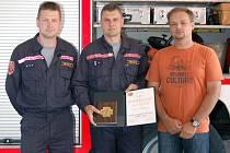 Ocenění hasiči z Karviné