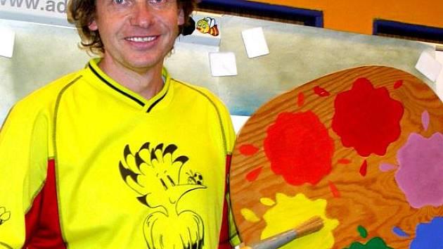 Adolf Dudek zábavnou formou vysvětluje základní principy malování.