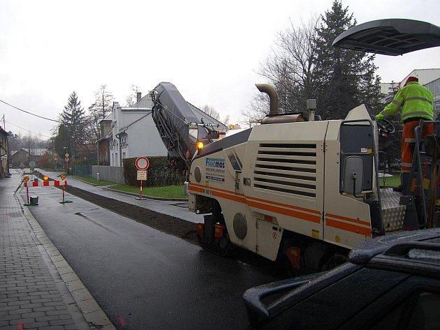 Oprava Mlýnské ulice v Karviné