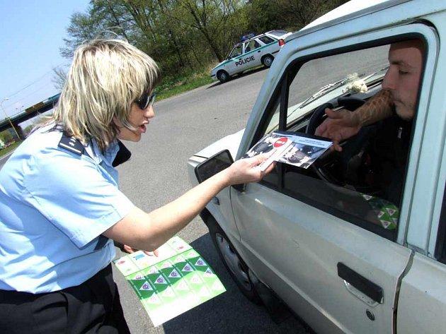 Také v Havířově se policisté zapojili do 1. Globálního týdne bezpečnosti silničního provozu.