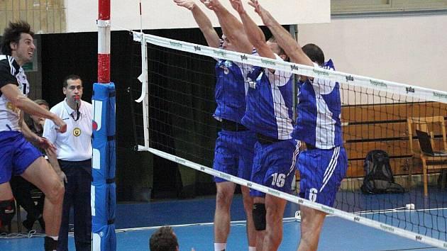 Volejbalisté Havířova poskočili v extraligové tabulce na čtvrté místo.