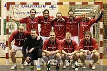 Vítězové Karvinské futsalové ligy - tým Dětmarovic.