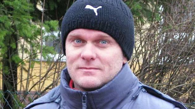 Trenér Albrechtic Tomáš Červenka.
